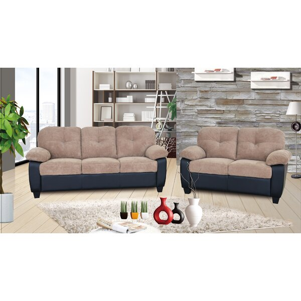 Aspasia 2 Piece Living Room Set by Winston Porter